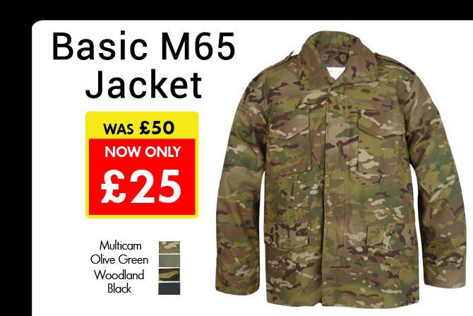 50% Off Basic M65 Jackets