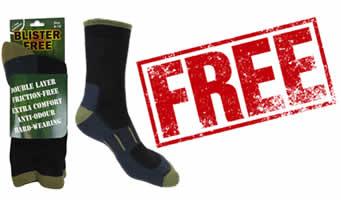 FREE Blister-Free Socks