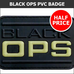 Black Ops PVC Badge