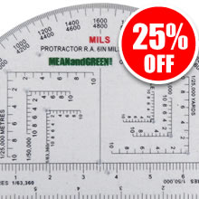 Military Protractor