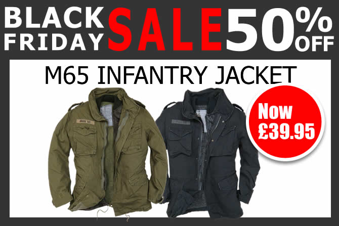 Black Friday - Half Price M65 Infantry Jacket