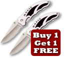 Buy 1 get 1 free on lock knives