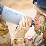 British Army LifeSaver Bottle