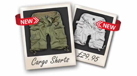 Vintage Cargo Shorts with Belt