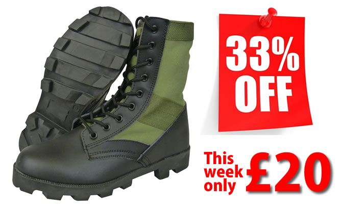 Jungle Boots Sale