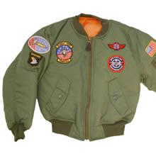 Kids MA1 Jacket
