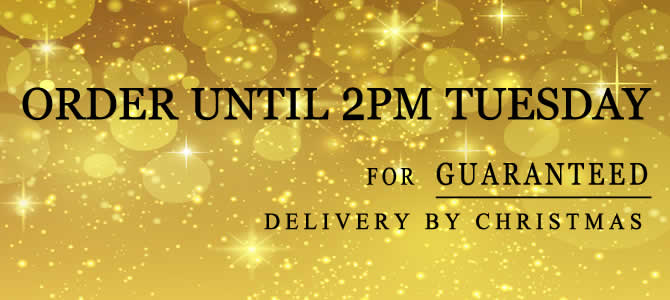 Last Chance to Order for Christmas