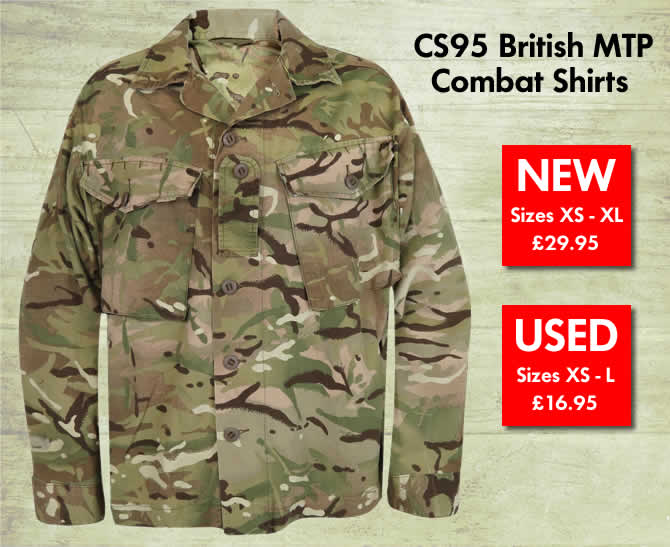 CS95 British MTP Combat Shirts