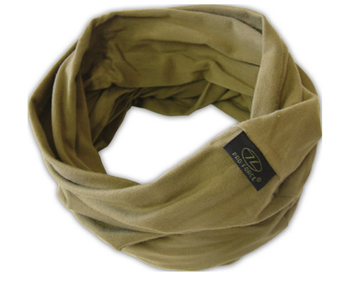 Olive Green Deluxe Military Headover