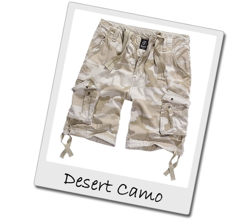 Desert Camo Cargo Shorts