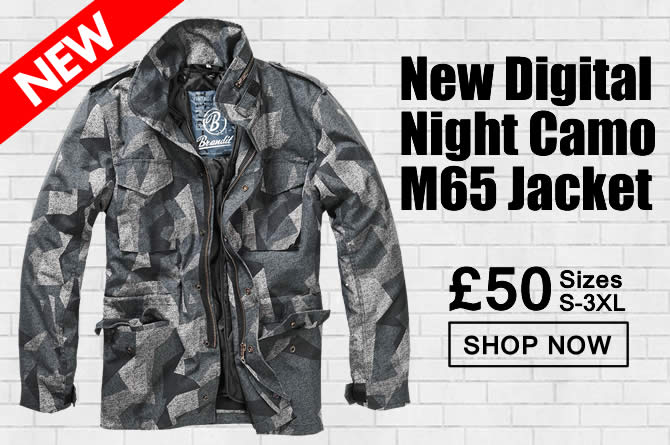 Digital Night Camo M65 Jacket