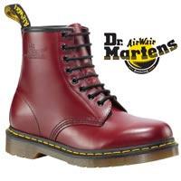 DM Cherry Red 8 Eye Boot