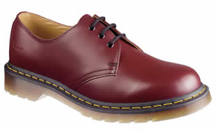 Cherry Red 3 Eye Shoe