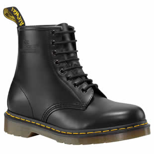 Black 8 Eye Boot