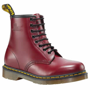 Cherry Red 8 Eye Boot