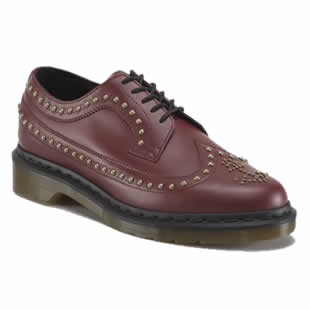 Red Brogue Shoe