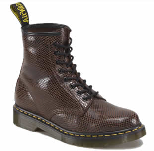 Brown Wave 1460 Boot