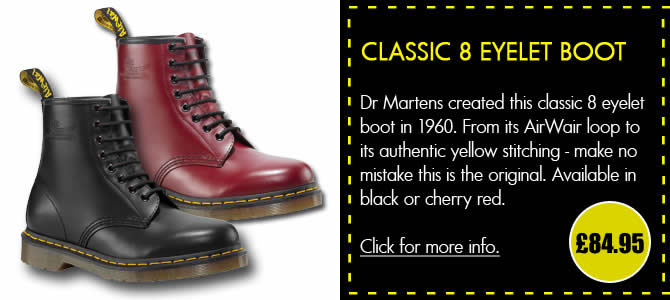 Dr Martens Classic 8 Eyelet Boot