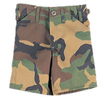 Kids Camo Shorts
