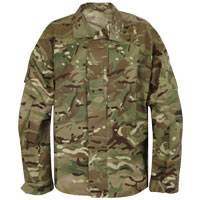 Used British MTP Combat Shirt PCS Issue