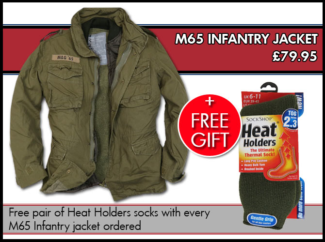 Free Gift with M65 Infantry Jacket