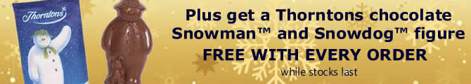 Free Thorntons Chocolate Snowman and Snowdog