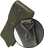 French Leather Ammo Pouch