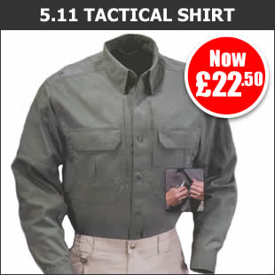 5.11 Long Sleeved Tactical Shirt