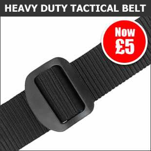 Heavy Duty Tactical Belt