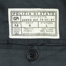 Italian great coat label
