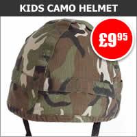 Kids Camo Helmet