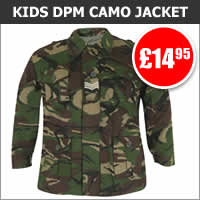 Kids DPM Camo Padded Jacket