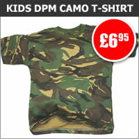 Kids DPM Camo T-Shirt