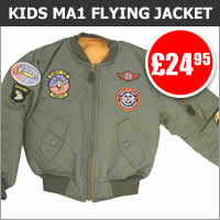 Kids MA1 Flying Jacket