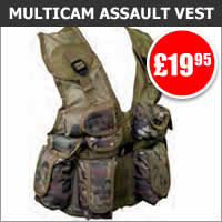 Kids Multicam Assault Vest