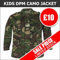 Kids DPM Camo Padded Jacket