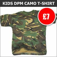 Kids DPM Camo T-Shirt