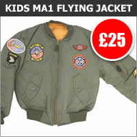 Kids MA1 Flying Jacket