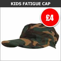 Kids Military Fatigue Cap