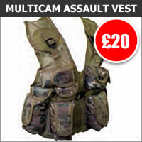 Kids Multicam Assault Vest