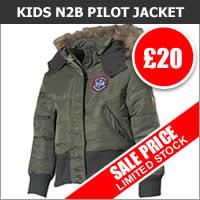 Kids N2B Pilot Jacket