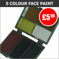 5 Colour Face Paint