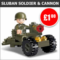 Sluban Soldier and Cannon