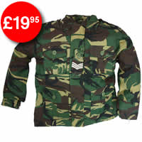 Kids Padded Camo Jacket