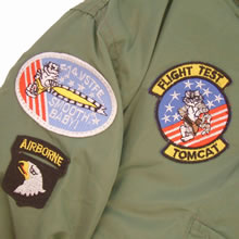 Kids MA1 Jacket with Badges