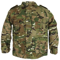 Kids Multicam Jacket