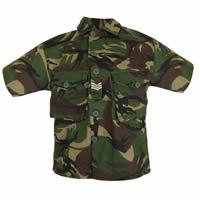 Kids Short Sleeve Camo Shirt