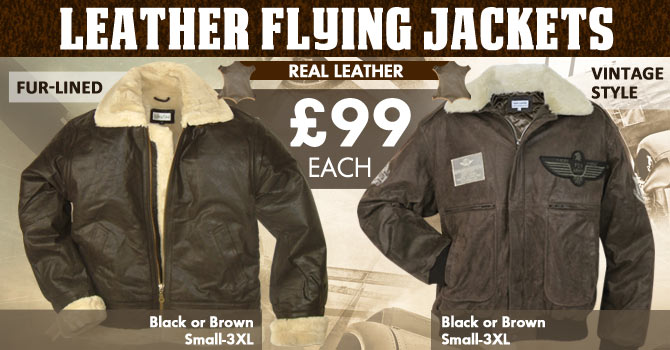 Leather Flying Jackets