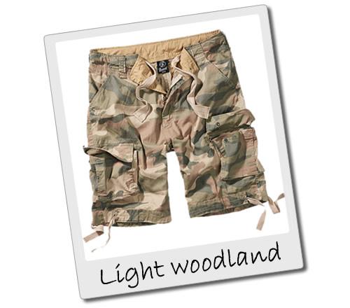 Light Woodland Cargo Shorts