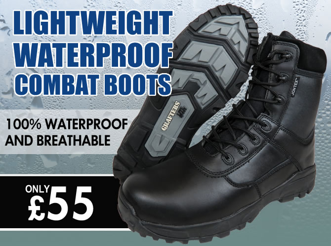Lightweight Waterproof Combat Boots